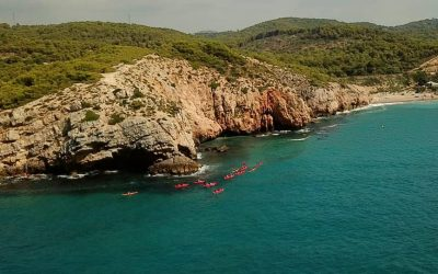 """""""Els Colls"""", Coves and Cliffs"""